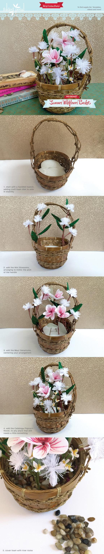 Paper-flower-project-basket-summertime-2